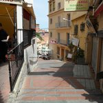 Torremolinos lane from the beach to town centre