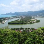 Chaweng Lake. A lovely view from a hill.