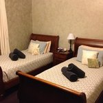Room 3, 2 king singles with ensuite