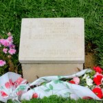  grave of hero John Simpson