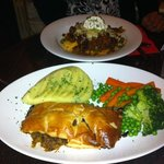 steak and ale pie a definite must try