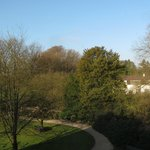  Hotel Huis te Eerbeek: morning view from my window