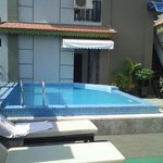  Small roof pool