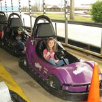 kids go-cart....u go many laps