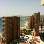  View over the levante beach