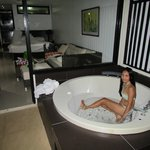  Jacuzzi in our room