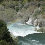 Rainbow over Krka Falls