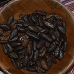 Cocoa beans need to be peeled and processed