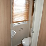  Our Prestige 3 bed caravan 2013 model - main bedroom en suite