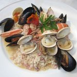  Seafood risoto
