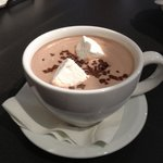 Aztec Hot Chocolate with hand-made marshmallows
