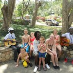 Mark Got The Kids To Play In A Reggae Band