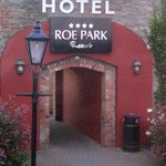 Entrance to Roe Park