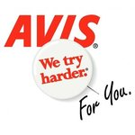 Avis Car Rental - Pick up and drop off.