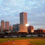  View of Downtown Tulsa From The Third Base Side