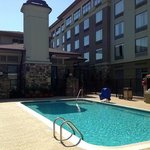  The hotel and Pool area