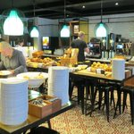 Breakfast buffet at Scandic Grand Central