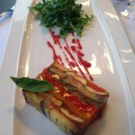  A beetroot - zuchini terrine