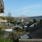 View from the landing window across to Pen y Ghent