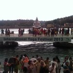  ganga aarti at parmarth ashram