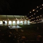  the wedding we set up in the grounds