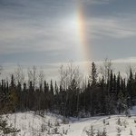 Sun Dog at Miles Canyon