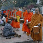 Luang Prabang - Monks' Alms Procession