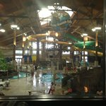 The whole water park from Smokey's