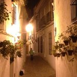 streets of arcos at night