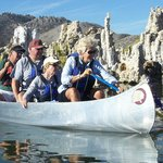  Mono Lake Canoe Tour - Awesome