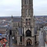 St Bavo's cathedral. (from the belfry tower.)