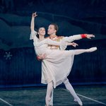 Dana Benton and Adam Still in The Nutcracker, photo by Mike Watson