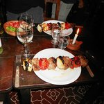  Brochette de lomo, buenisima!!!