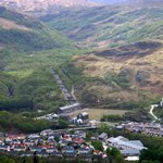  Kinlochleven at the foot of the Mamores