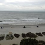  View from our oceanfront room on the 6th floor