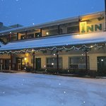  Outside of Inn during the winter months