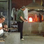 Glassblowing in Murano