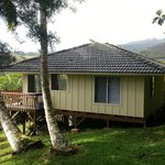 The Cottage at Hale Kua overlooking the Lawai valley