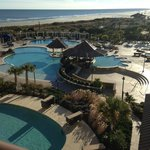  Picture of the pool area from our room!