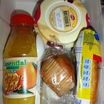 Contents of breakfast box