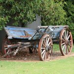  Old wagon used in the past.