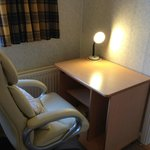 Office Chair and desk.