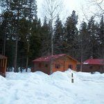  View of the cabins