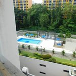  Pool from window