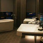 Huge bathroom in the suite