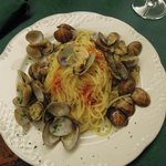  Spaghetti alle vongole con &quot;mia&quot; aggiunta di peperoncino!