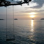 Good view to see sunset when i live at Koh Chang :))))