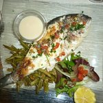Grilled Dorade fish