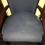  Chair with stains in room