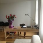  Desk and roses